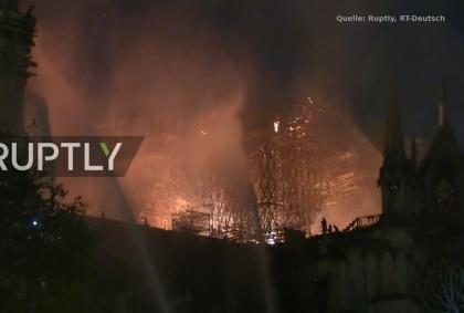 Notre Dame-brennt