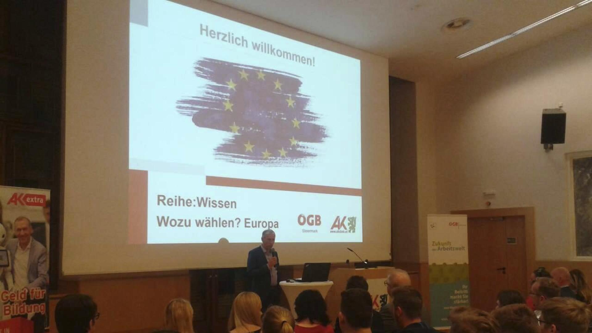EU-Wahl-Wozu wählen-Josef Pesserl-Arbeiterkammer-Steiermark-Graz