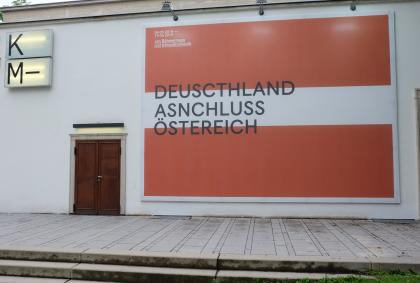Jan Böhmermann-Deutschland-Anschluss-Österreich-Satire-Plakat-Künstlerhaus-Graz