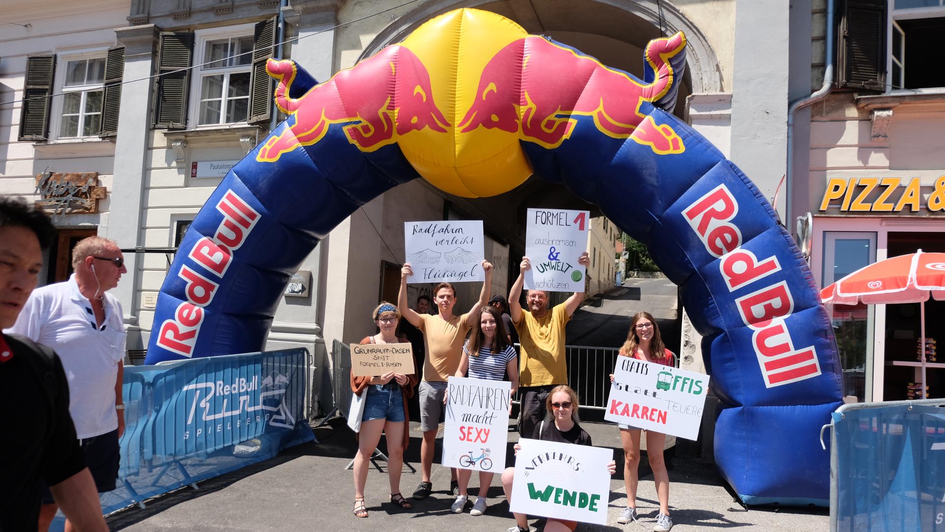 Fridays for Future-Red Bull-Politik-Formel 1-Steiermark-Graz-Spielberg-Show Run-Max Verstappen-Schlossberg