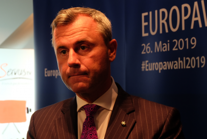 Norbert Hofer-FPÖ-EU Wahl 2019-EU-Parlament-Wien-Brüssel