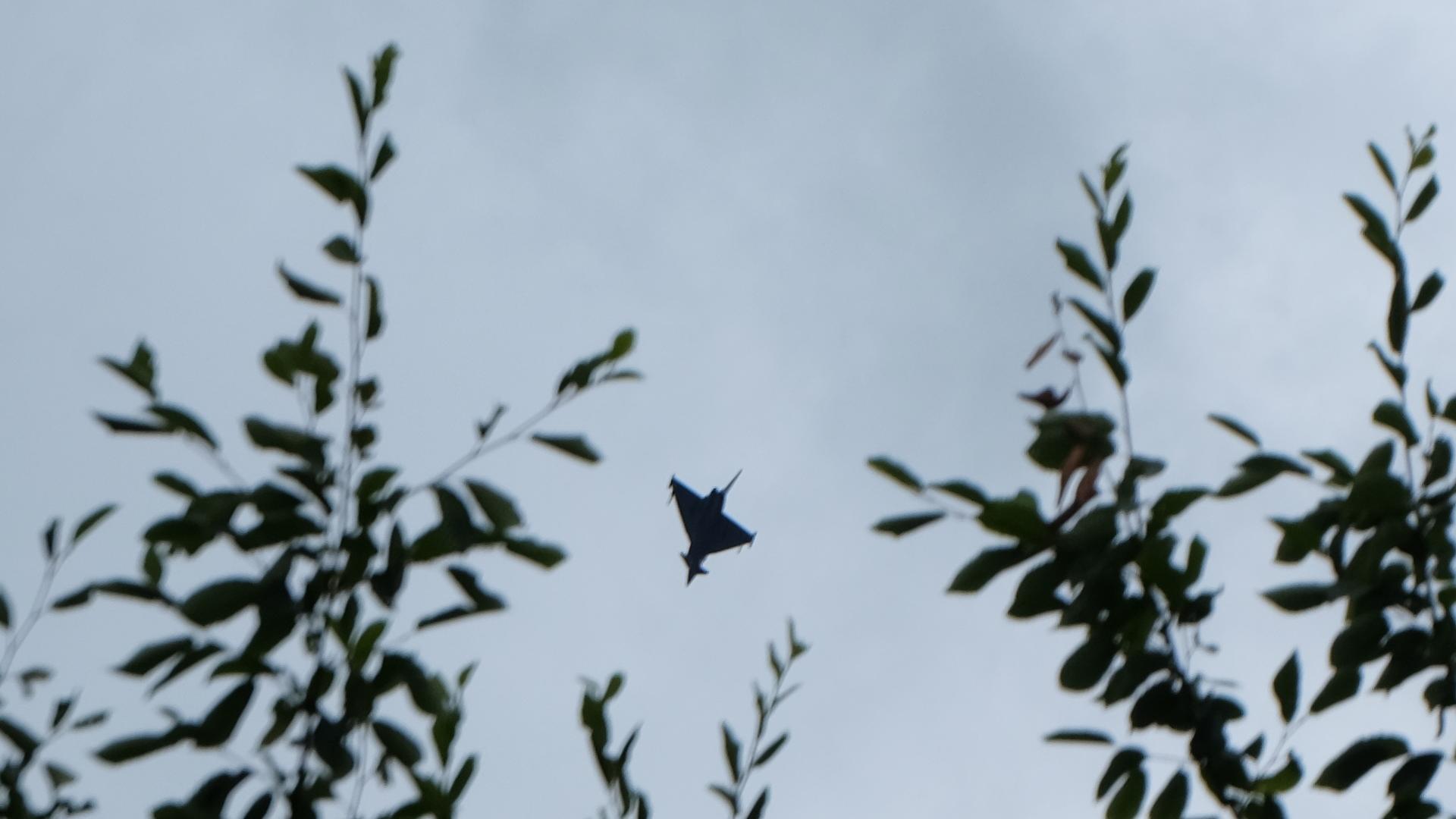 Eurofighter-Tiefflug-Bundesheer-Samitzteich-Graz