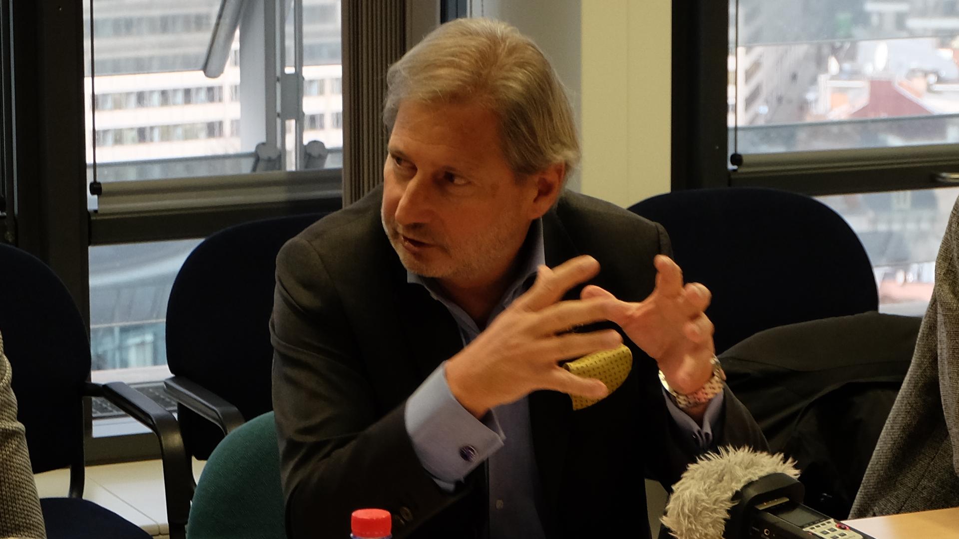 Johannes Hahn-EU-Kommissar