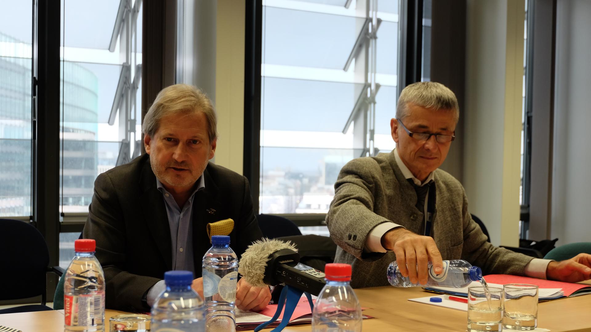 Johannes Hahn-Kommissar-EU-Österreich-Brüssel-Wien
