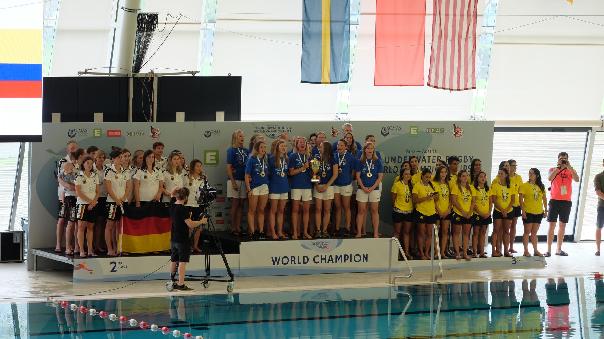 Unterwasser-Rugby-Graz-Steiermark-Weltermeisterschaft-Norwegen-Frauen