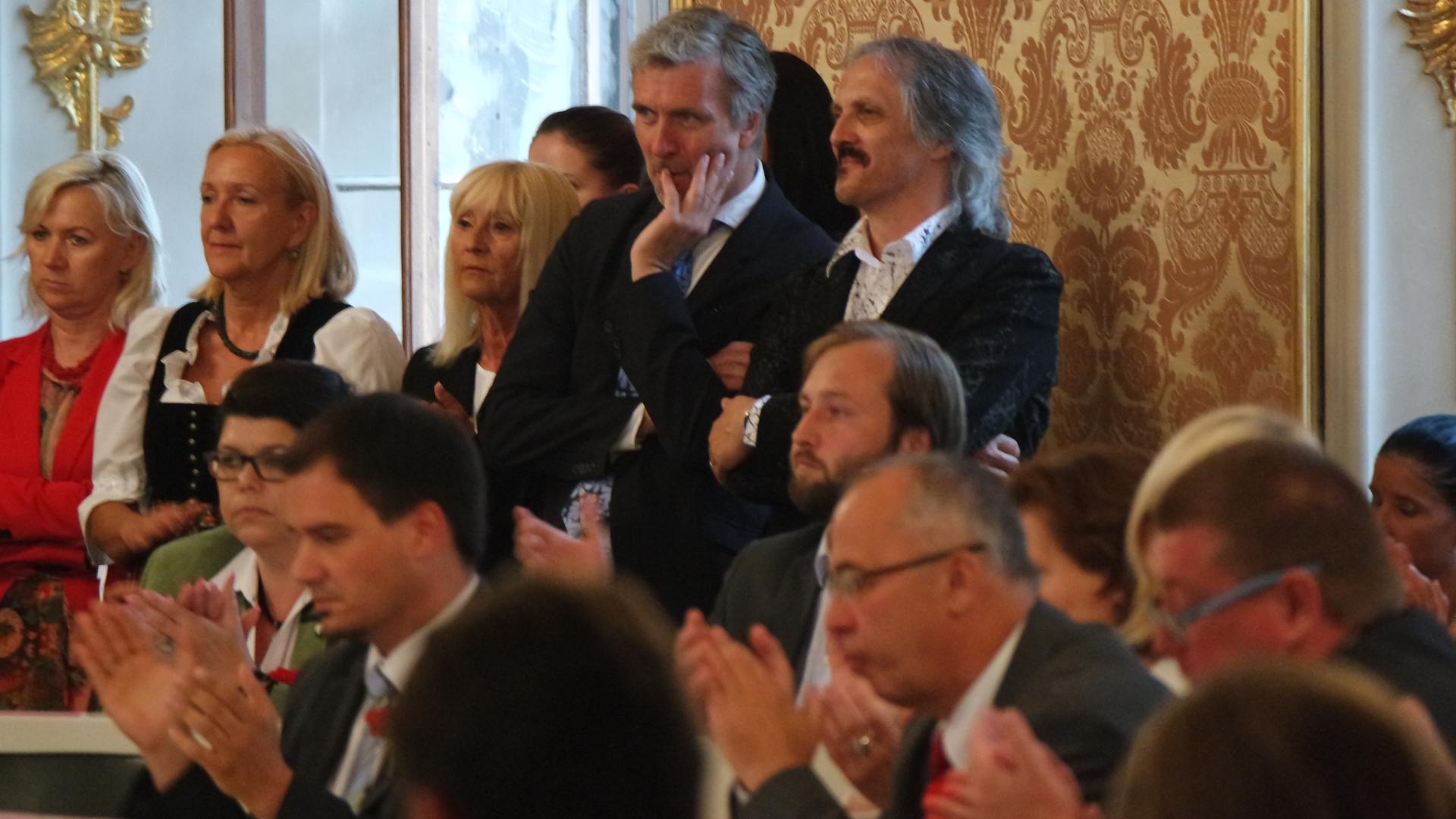 Max Lercher-Michael Schickhofer-Steierischer Landtag-Konstituierende Sitzung-Graz-SPÖ-Leykam