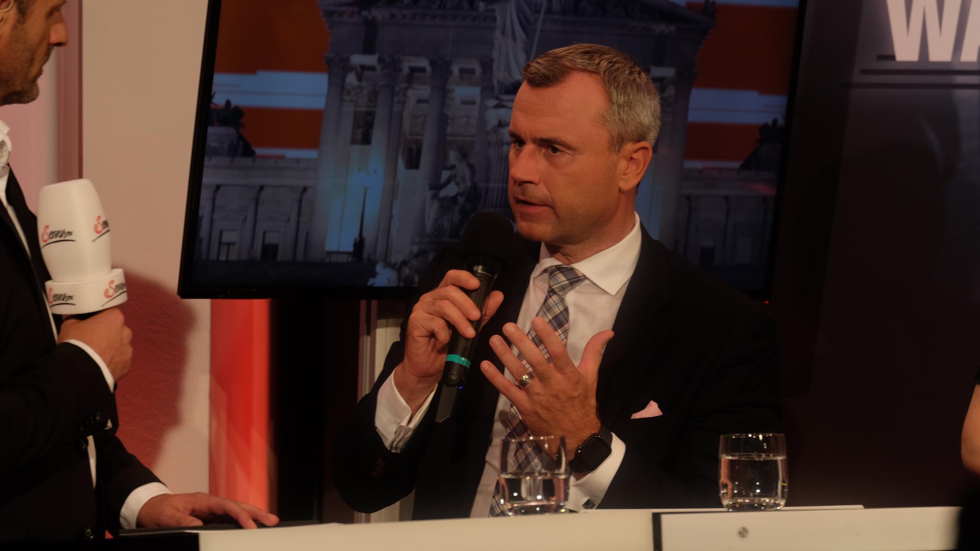 Norbert Hofer-Nationalratswahl-Servus TV-Fleischhacker-2019-Politik-Sebastian Kurz