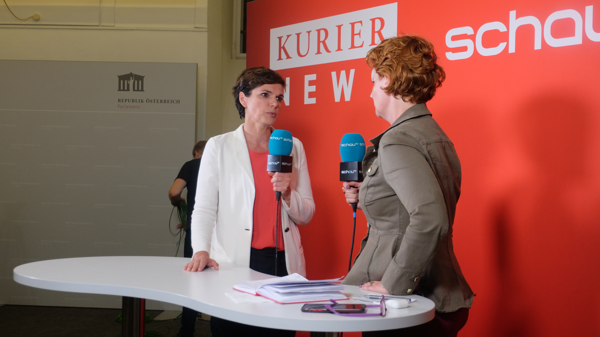 Joy Pamela Rendi-Wagner-SPÖ-Nationalratswahl 2019-Sebastian Kurz-Schau TV-Kurier