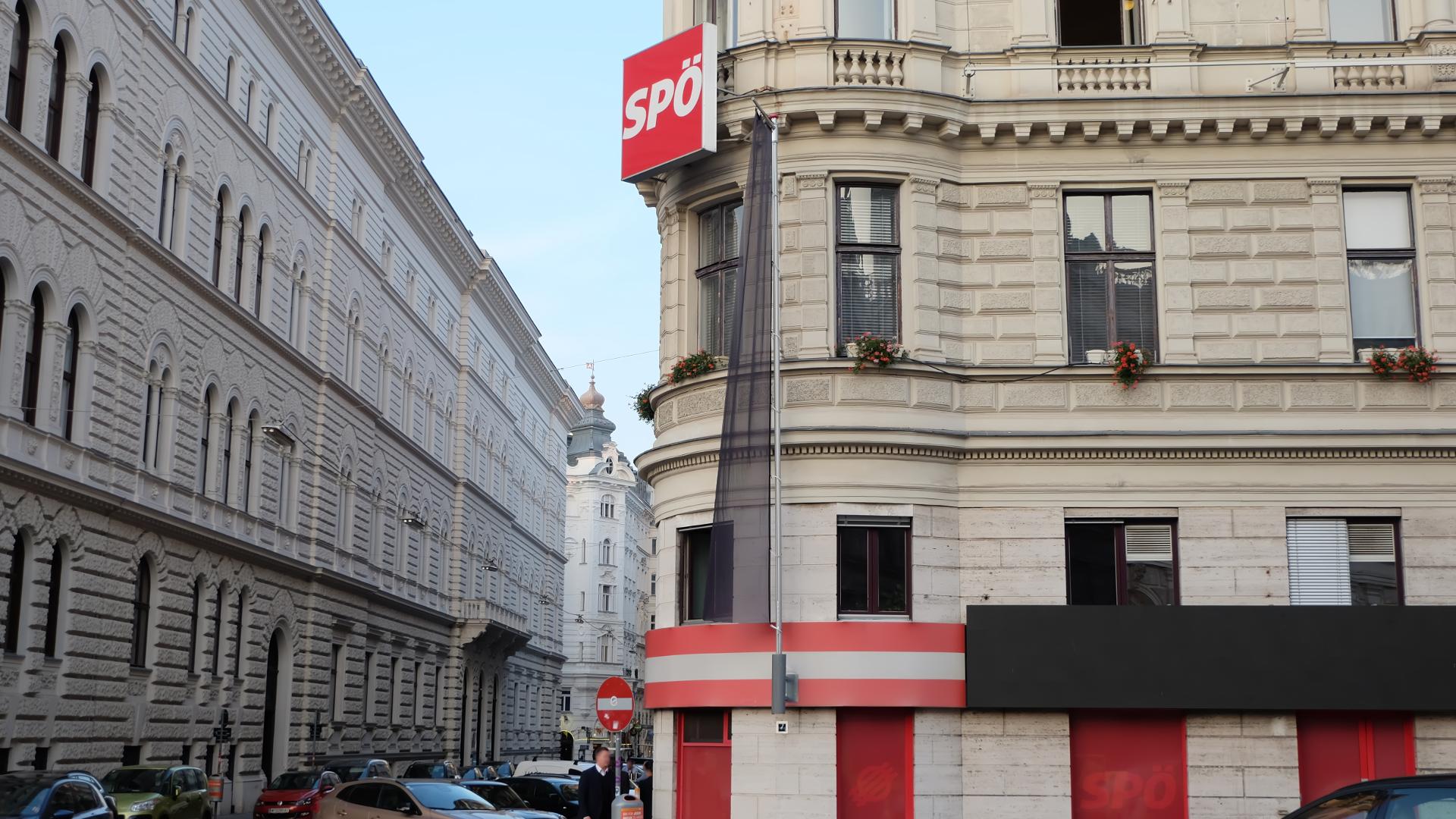SPÖ-Löwelstraße-Politik-Wien-Bundesparteizentrale-Zentrale-Leykam