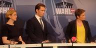 Sebastian Kurz-Beate Meinl -Reisinger-Corinna Milborn-Politik-Nationalratswahl 2019-Wien-Servus TV-Puls 4-ATV