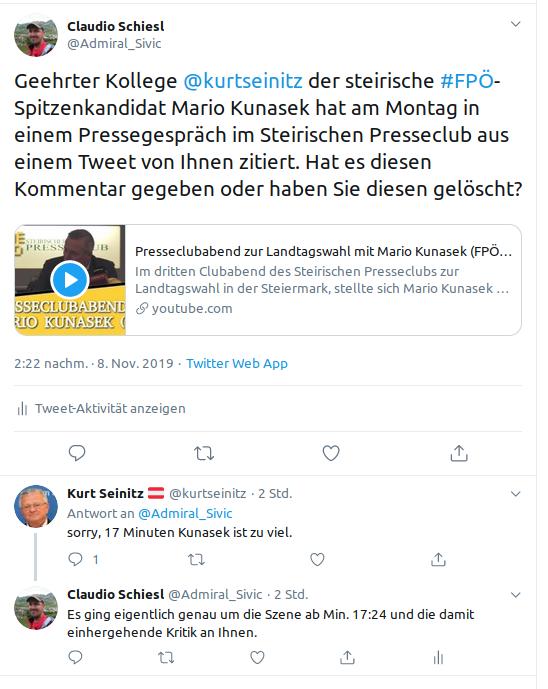 Krone-FPÖ-Kurt Seinitz-Twitter