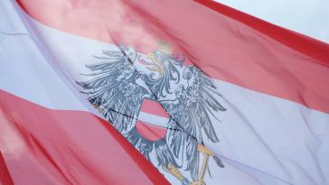 Österreichische Identität-Flagge-Österreich-Politik-Republik
