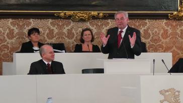 Hermann Schützenhöfer-Politik-Steiermark-Landtag-Schwarz-Rot-SPÖ-ÖVP-Graz-Wahl-Landesregierung