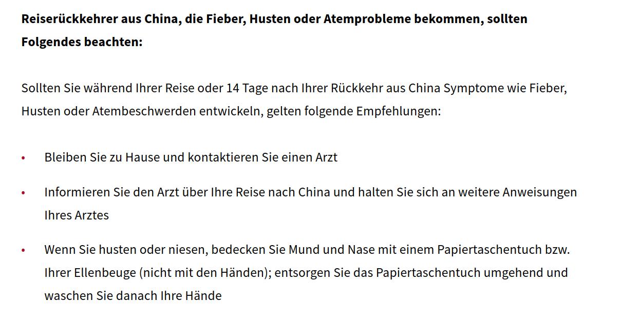 Coronavirus-Sozialministerium-Sympthome-Liste-China-Österreich