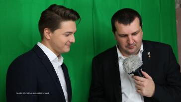 Niko Swatek-NEOS-Claudio Schiesl-Blogger-Inside Politics-Landtagswahl-Steiermark-Graz-2019