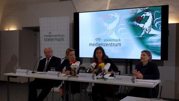 Coronavirus-Politics-Graz-Steiermark-Karlheinz Tscheliessnigg-Juliane Bogner Strauß-Doris Kampus-Ilse Groß