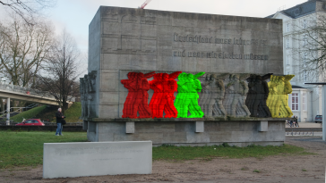 AFD-NS Denkmal-Hamburg-SPD-Grüne-Linke-CDU-FDP-Deutschland