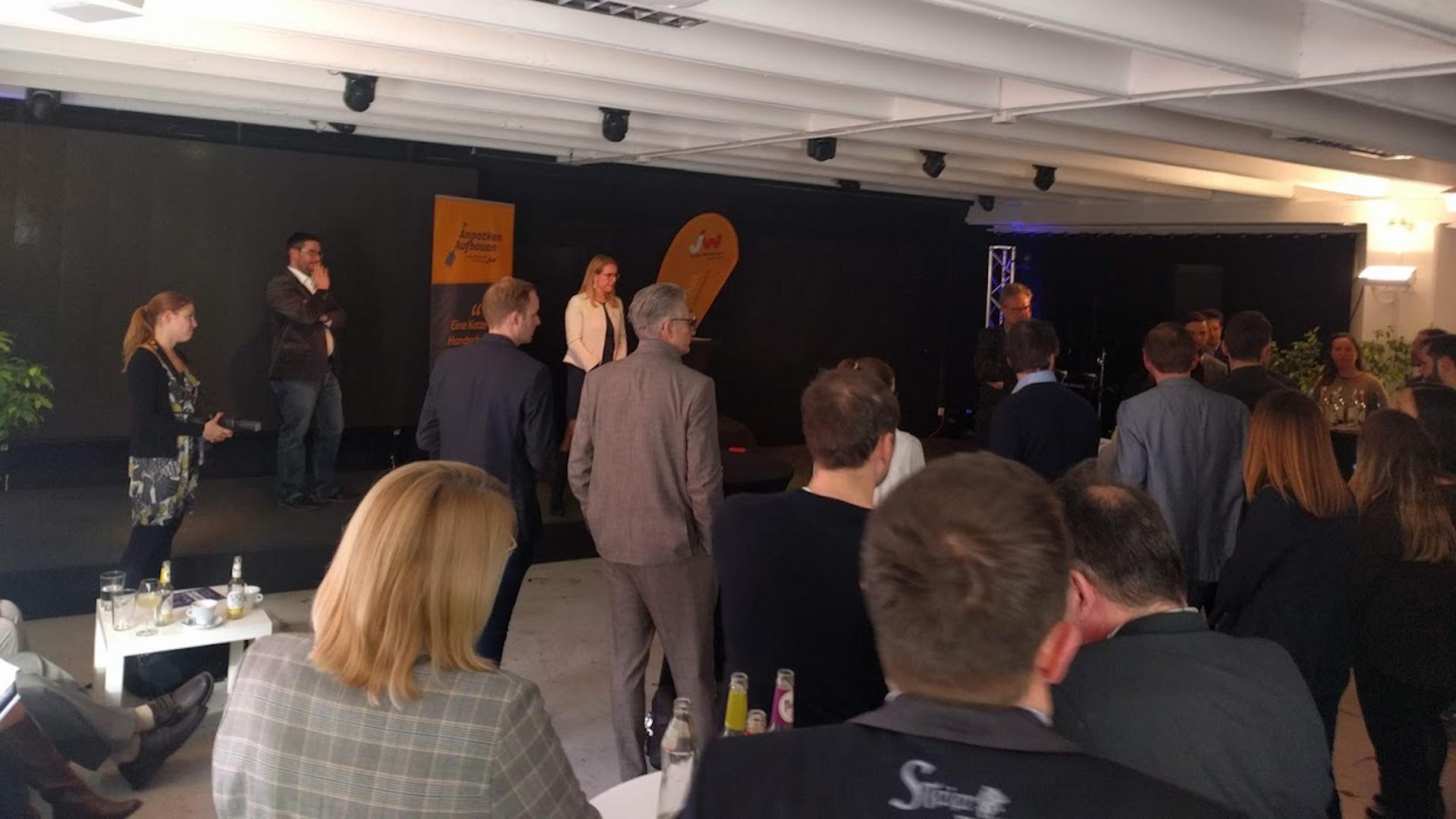 Spacelend-Politik-Startup-Schramböck Margarete-Graz-Wirtschaft-Creative Industries