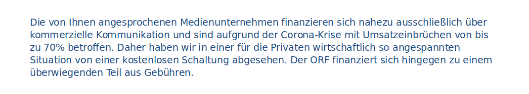 Corona-Spots-Bundeskanzleramt-Inside Politics-Beantwortung-Inserate-Kampagne