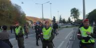 Bundesheer-Miliz-Soldaten-Polizei-Grenzschutz-Spielfeld-Steiermark-Politik-Corona-Covid19-Einsatz