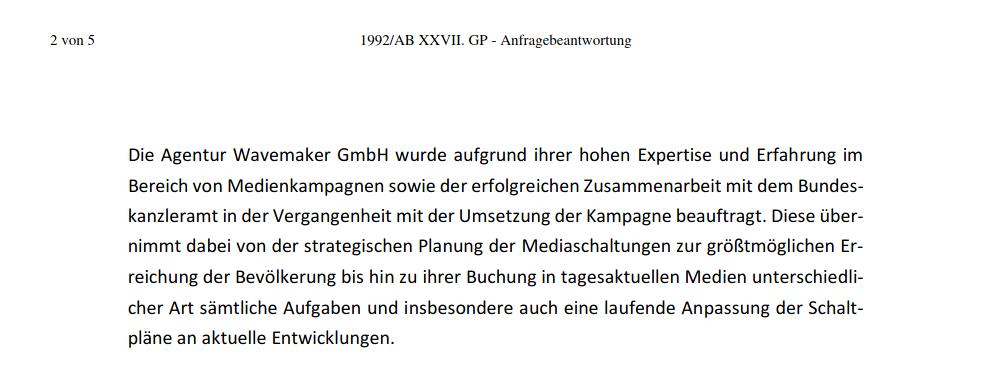 Politik-Wavemaker-Corona-Spots-Österreich-FPÖ-Sebastian Kurz-Alois Kainz-Kampagne