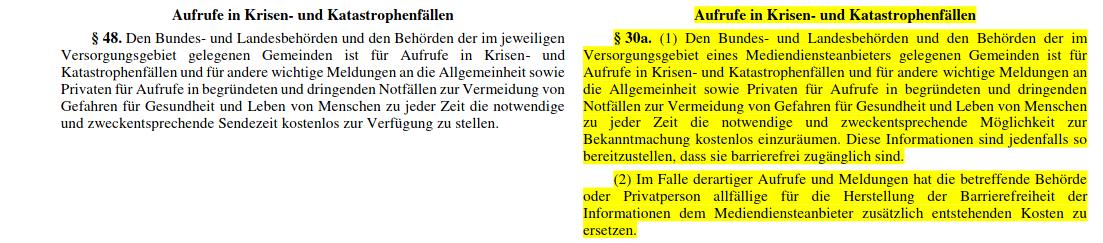 Corona-Corona Spots-Österreich-AMD-G-Audiovisuelles Mediendienste Gesetz