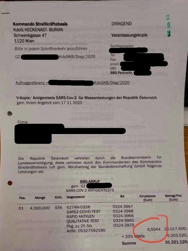 Corona-Politik-Massentest-Bundesheer-Verteidigungsministerium-Österreich