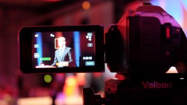 Pause-Christian Kern-SPÖ-Kamera